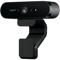 WebCam Logitech Brio 4K Pro Full HD Tecnologia HDR RightLight 3