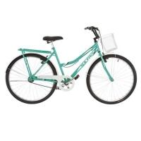 Bicicleta Aro 26 Ultra Bikes Tropical Summer V-Break Verde Anis/Branca