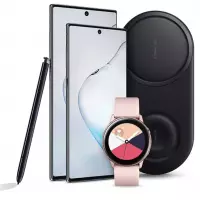 [AME por 3.828,52] [Cartão Submarino] Smartphone Samsung Galaxy Note 10 8GB de RAM 256GB + Galaxy Watch + Carregador Wireless Duplo
