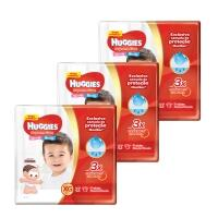 Kit de Fraldas Huggies Hiper Supreme Care M/G/XG/XXG