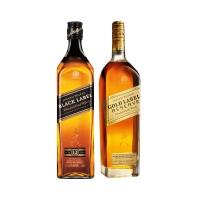 [SP] Whisky Johnnie Walker Gold Reserve 750ml + Whisky Black Label 750ml