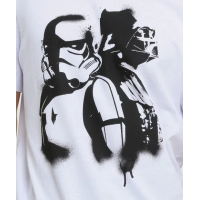 Camiseta Masculina Estampa Star Wars Manga Curta Disney