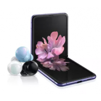 [Cartão Porto Seguro] Galaxy Z Flip 256GB Mirror Black + Galaxy Buds+