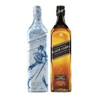 [SP] Whisky Johnnie Walker White Walker 750ml + Whisky Black Label 750ml
