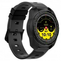 Smartwatch Monitor Cardíaco Q-touch Bluetooth QSW13 Preto