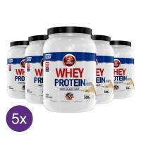 Kit 5x Whey Protein Pré Midway 500g - Baunilha