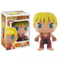 Pop! Ken: Street Fighter #138 - Funko