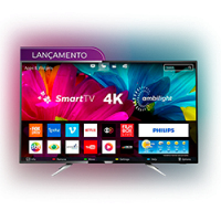 Smart TV LED Ambilight 55 Philips 55PUG6212/78 Ultra HD - Preto