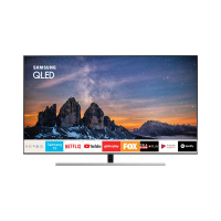 Smart TV QLED 55 Samsung Q80 QN55Q80RAGXZD 4K HDMI, USB, Wi-Fi Smart Tizen Preta Conversor Digital Integrado