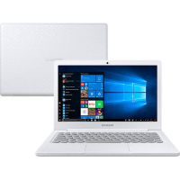 [Cartão Shoptime] Notebook Flash F30 Intel Celeron 4GB 128GB SSD Full HD LED 13.3 W10 Branco- Samsung