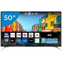 "Smart TV LED 50"" AOC 4K/Ultra HD LE50U7970S Wi-Fi 4 HDMI 2 USB"