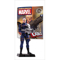 Action Figure Marvel Figurines: Cable #63 - Eaglemoss