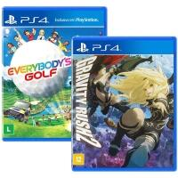 [AME por 12,50] Jogo Gravity Rush 2 + Everybody's Golf - PS4