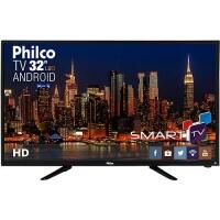 [Cartão Shoptime] Smart TV LED 32'' HD Philco PH32B51DSGWA 2 HDMI 2 USB Wi-Fi 60Hz