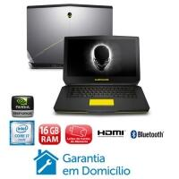 Notebook Gamer Dell Alienware AW-15R2-A10 com Placa Gráfica NVIDIA GeForce GTX 965M Intel® Core™ i5-6300HQ 8GB 1T