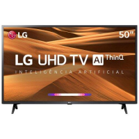 Smart TV LED 50 4K LG 50UM7360 3 HDMI 2 USB Wi-Fi Bluetooth