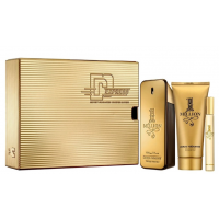 Conjunto 1 Million Express Paco Rabanne Masc - EDT 100ml + Gel de banho 100ml + Travel Size 10ml