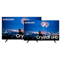 [AME por 4.499,99] Samsung Smart TV 55'' Crystal UHD 55TU8000 + Samsung Smart TV 50