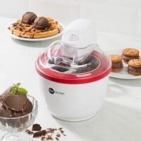 [AME por 135,99‬] Sorveteira Vermelha 1L - Fun Kitchen
