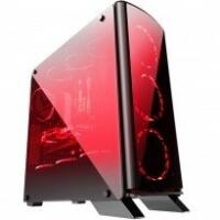Gabinete Gamer Bluecase Mid Tower BG-007 Preto