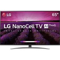 Smart TV LED 65 4K LG 65SM8100 NanoCell 4 HDMI 3 USB Wi-Fi Bluetooth