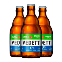 3 Unidades Vedett Extra Session Ipa