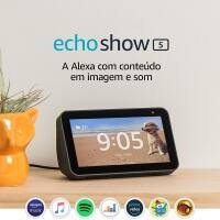 [Amazon Prime] Smart Speaker Echo Show 5 Amazon Tela de 5.5