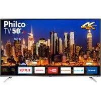"[Cartão Shoptime] Smart TV LED 50"" Philco 4K/Ultra HD PTV50F60SN"