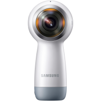 [Visa Checkout] Câmera Bluetooth Samsung Gear 360 2017 Wi-Fi 15Mp e Ip53
