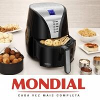 [Visa Checkout] Fritadeira Air Fryer DIGITAL Premium MONDIAL AF-04 com Timer e Display Digital – Preta