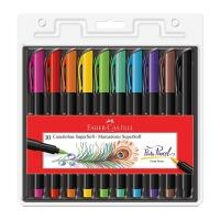 Faber-Castell Hidrografica Supersoft Brush 10 Cores Multicor