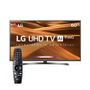 Smart TV LED 60 4K LG 60UM7270 3 HDMI 2 USB Wi-Fi Bluetooth