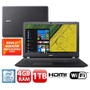 "Notebook Acer Core i3-7100U 4GB 1TB Tela 15.6"" Windows 10 Aspire ES1-572-36FV"