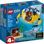 [Parcelado] City: Mini Submarino Oceânico 60263 - Lego
