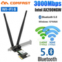 [Internacional] [Marketplace] Adaptador Wifi 3000mbps Dual Band Wireless Pcie - CF-Ax200 SE