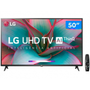 "Smart TV 4K LED 50"" LG 50UN7310 Wi-Fi Bluetooth 3 HDMI 2 USB - 50UN7310PSC"