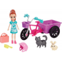 Polly Pocket Bicicleta Aventura com Bichinho Mattel Gfr03 Multicor