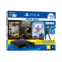 Console Playstation 4 Slim 1TB Bundle 6 + Horizon Zero Dawn Complete + Days Gone + Grand Theft Auto V + Voucher Fortnite + 3 Meses PSN Plus