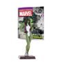 Action Figure Marvel Figurines: Mulher Hulk #38 - Eaglemoss