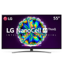 Smart TV LED 55 UHD 4K LG 55NANO86 NanoCell IPS Wi-Fi Bluetooth HDR Inteligência Artificial ThinQ AI Google Assi