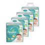 Kit de Fraldas Pampers XG Confort Sec Super - 232 Unidades