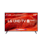 Smart TV LED 55 LG UM7520 Ultra HD 4K HDR Ativo DTS Virtual X Inteligência Artificial ThinQ AI WebOS 4.5
