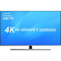 Smart TV LED 75 Premium UHD Samsung Nu8000 Ultra HD 4k com Conversor Digital 4 HDMI 2 USB Wi-Fi Hdr1000