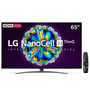 Smart TV LED 65 UHD 4K LG 65NANO86 NanoCell IPS Bluetooth HDR Inteligência Artificial ThinQ AI Google Assistente,