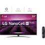[AME por 2.519,10] Smart TV LED 55 4K LG 55SM8100 NanoCell 4 HDMI 3 USB Wi-Fi Bluetooth 60Hz