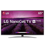 Smart TV LED 65´ LG UHD 4K NanoCell Conversor Digital 4 HDMI 3 USB Wi-Fi ThinQ AI HDR - 65SM8100