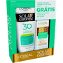 Kit Protetor Solar Corporal Loreal Expertise FPS30 200ml + Facial Toque Seco FPS30 25g