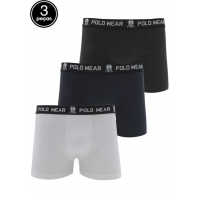 Kit 3 Pçs Cueca Polo Wear Boxer