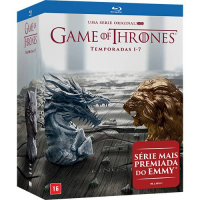 Coleção DVD Game Of Thrones 1-7º Temporadas (35 Discos)