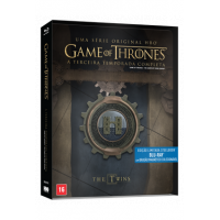 Blu-ray Steelbook Game Of Thrones: 3ª Temporada - 5 Discos